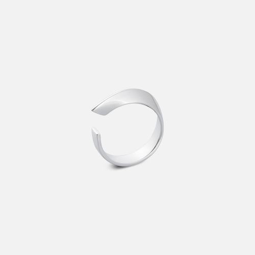 Aether  ring silver left