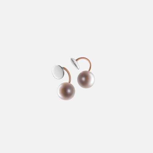 Rounded earrings